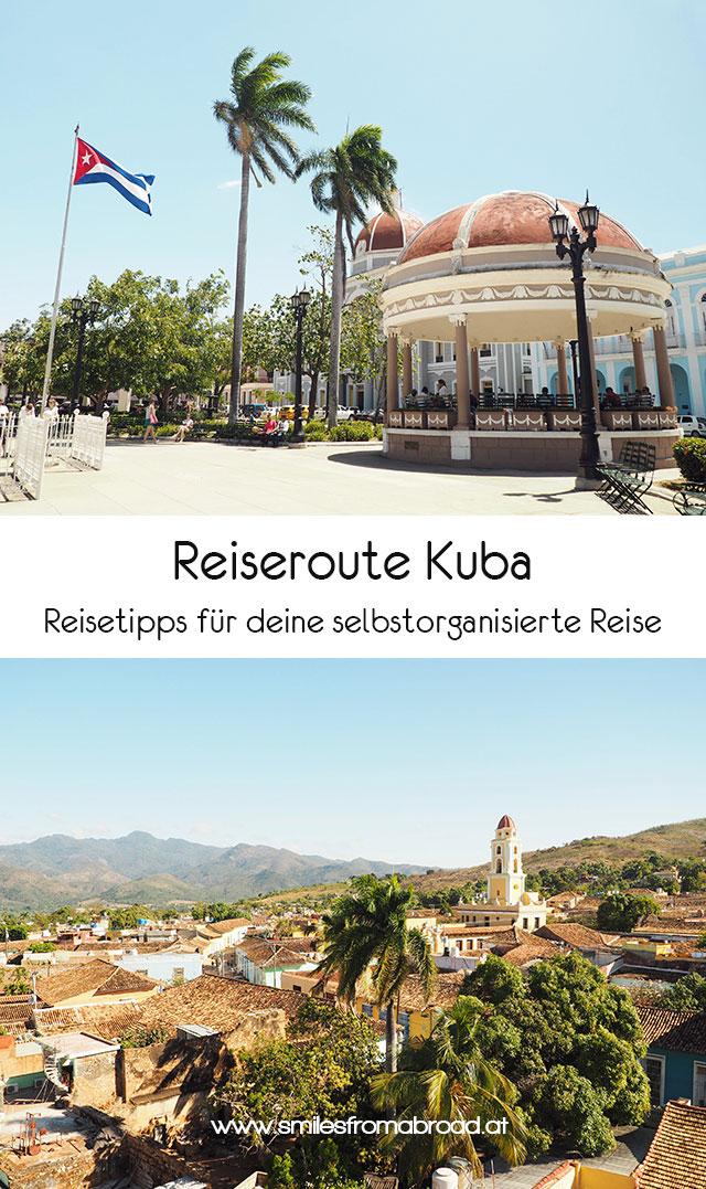 pinterest kuba reiseroute4 - Reiseroute und was kostet eine Reise nach Kuba