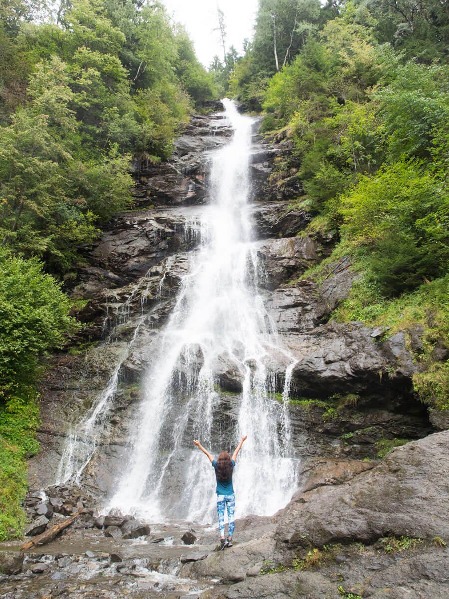 Schleierwasserfall Hart Zillertal Tirol