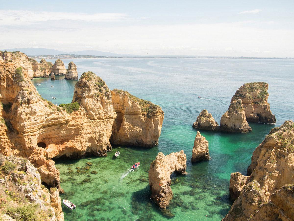 algarve 1 - Portugal Rundreise mit dem Auto - Von Burgen über Klippen - Unsere Reiseroute