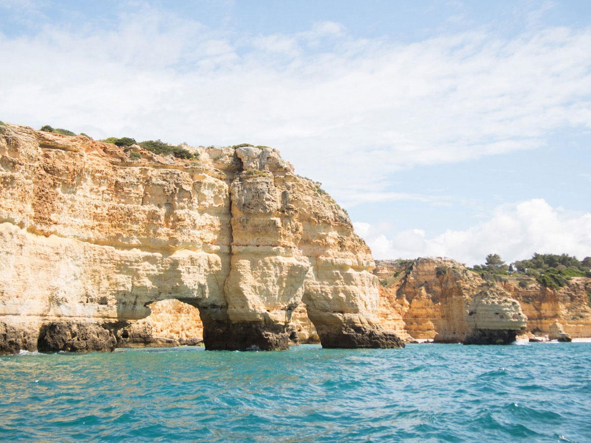 algarve 3 - Portugal Rundreise mit dem Auto - Von Burgen über Klippen - Unsere Reiseroute