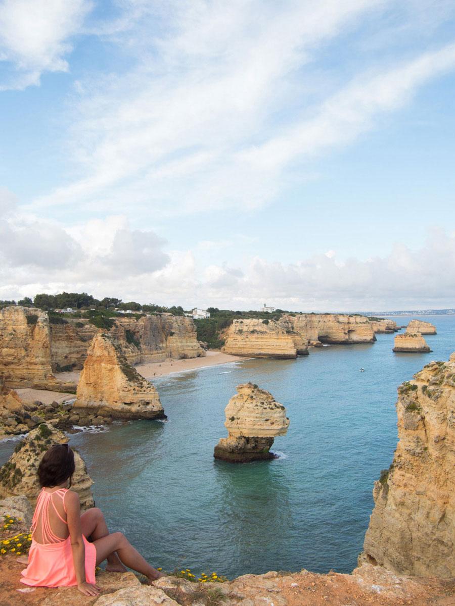 algarve 4 - Portugal Rundreise mit dem Auto - Von Burgen über Klippen - Unsere Reiseroute