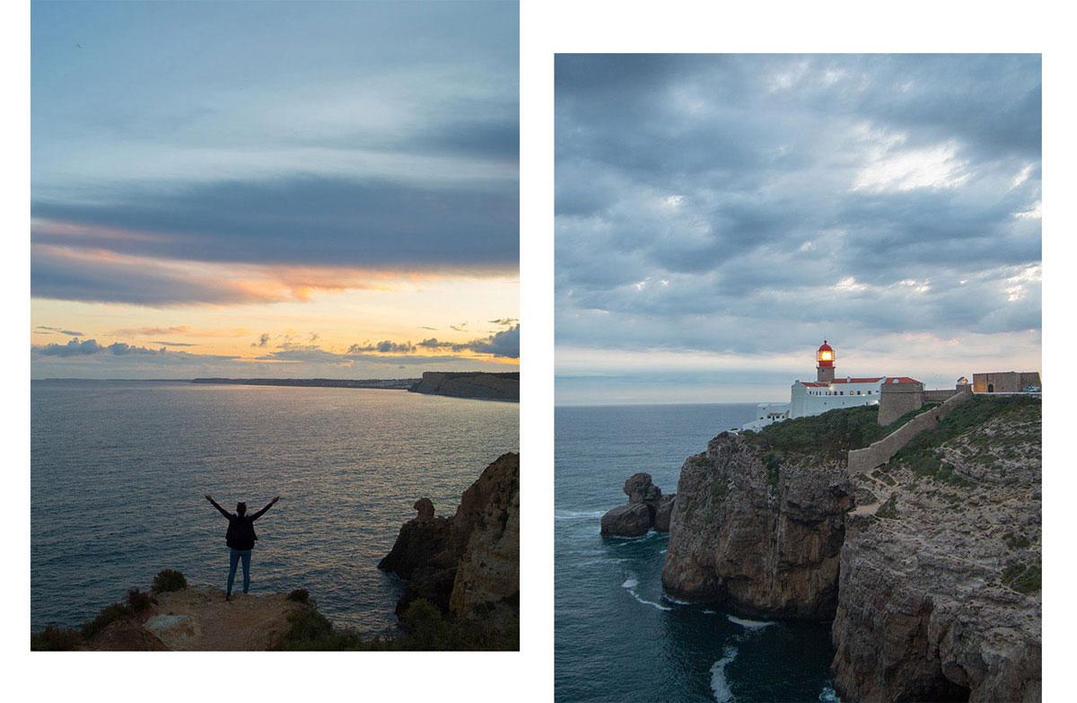 algarve sunset - Portugal Rundreise mit dem Auto - Von Burgen über Klippen - Unsere Reiseroute