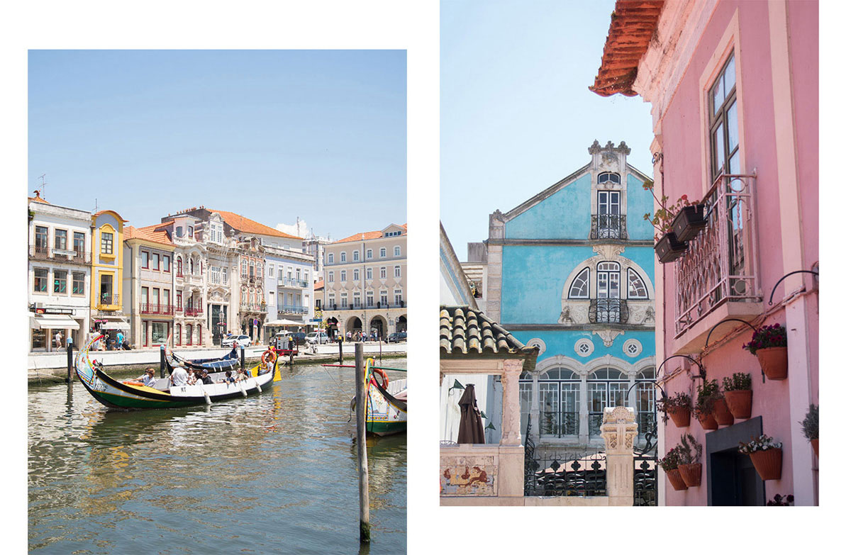 aveiro 1 - Portugal Rundreise mit dem Auto - Von Burgen über Klippen - Unsere Reiseroute