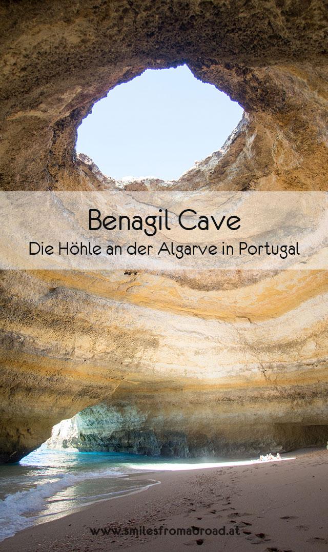 benagil cave pinterest2 - Die Benagil Höhle an der Algarve entdecken