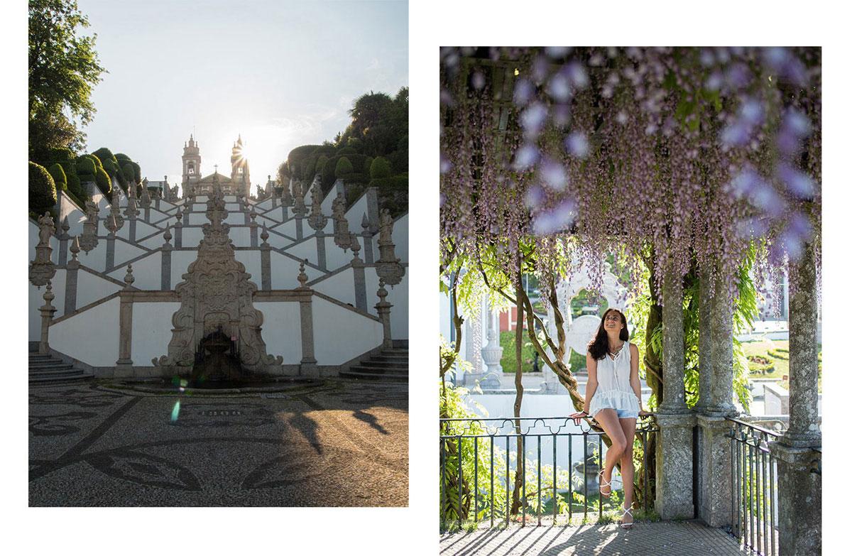braga - Portugal Rundreise mit dem Auto - Von Burgen über Klippen - Unsere Reiseroute