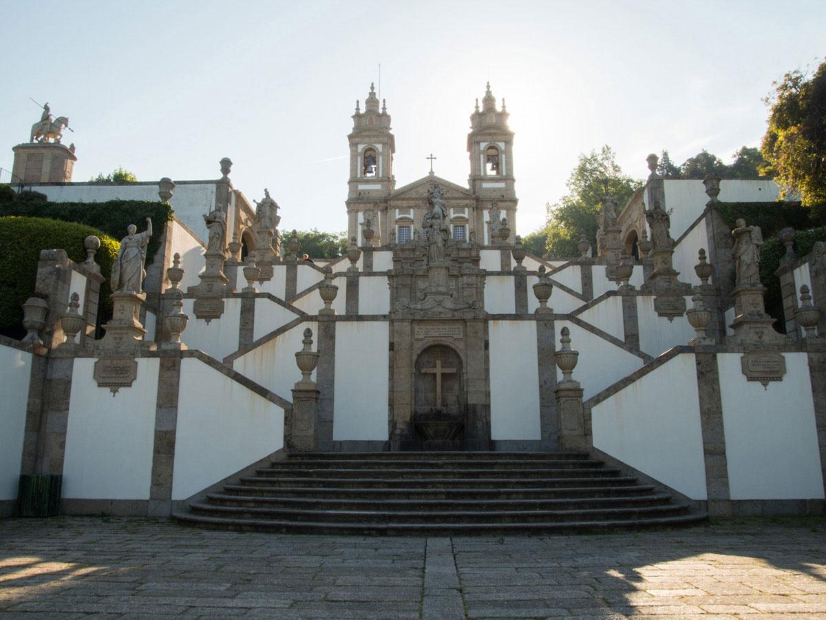braga2 1 - Portugal Rundreise mit dem Auto - Von Burgen über Klippen - Unsere Reiseroute
