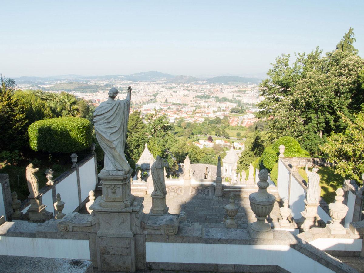 braga2 2 - Portugal Rundreise mit dem Auto - Von Burgen über Klippen - Unsere Reiseroute