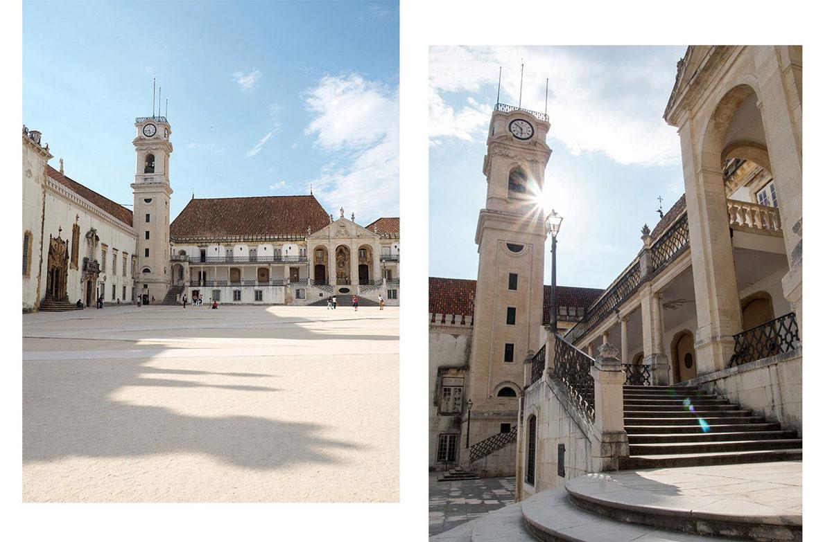 coimbra - Portugal Rundreise mit dem Auto - Von Burgen über Klippen - Unsere Reiseroute