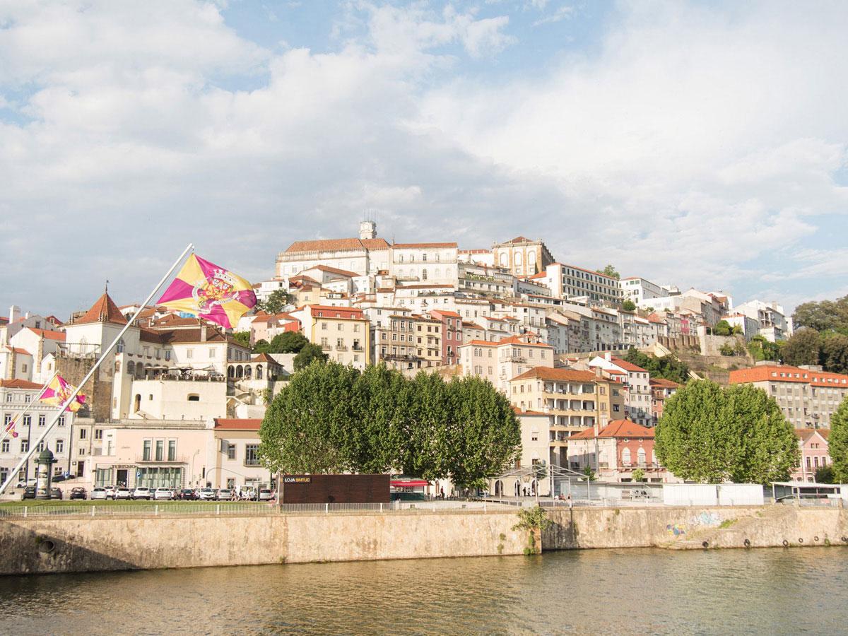 coimbra3 - Portugal Rundreise mit dem Auto - Von Burgen über Klippen - Unsere Reiseroute