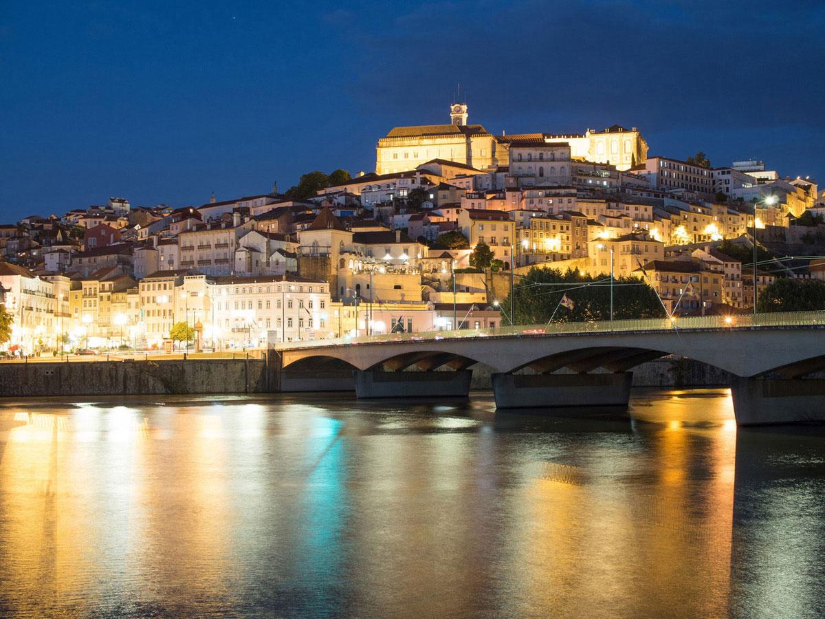 coimbra4 - Portugal Rundreise mit dem Auto - Von Burgen über Klippen - Unsere Reiseroute