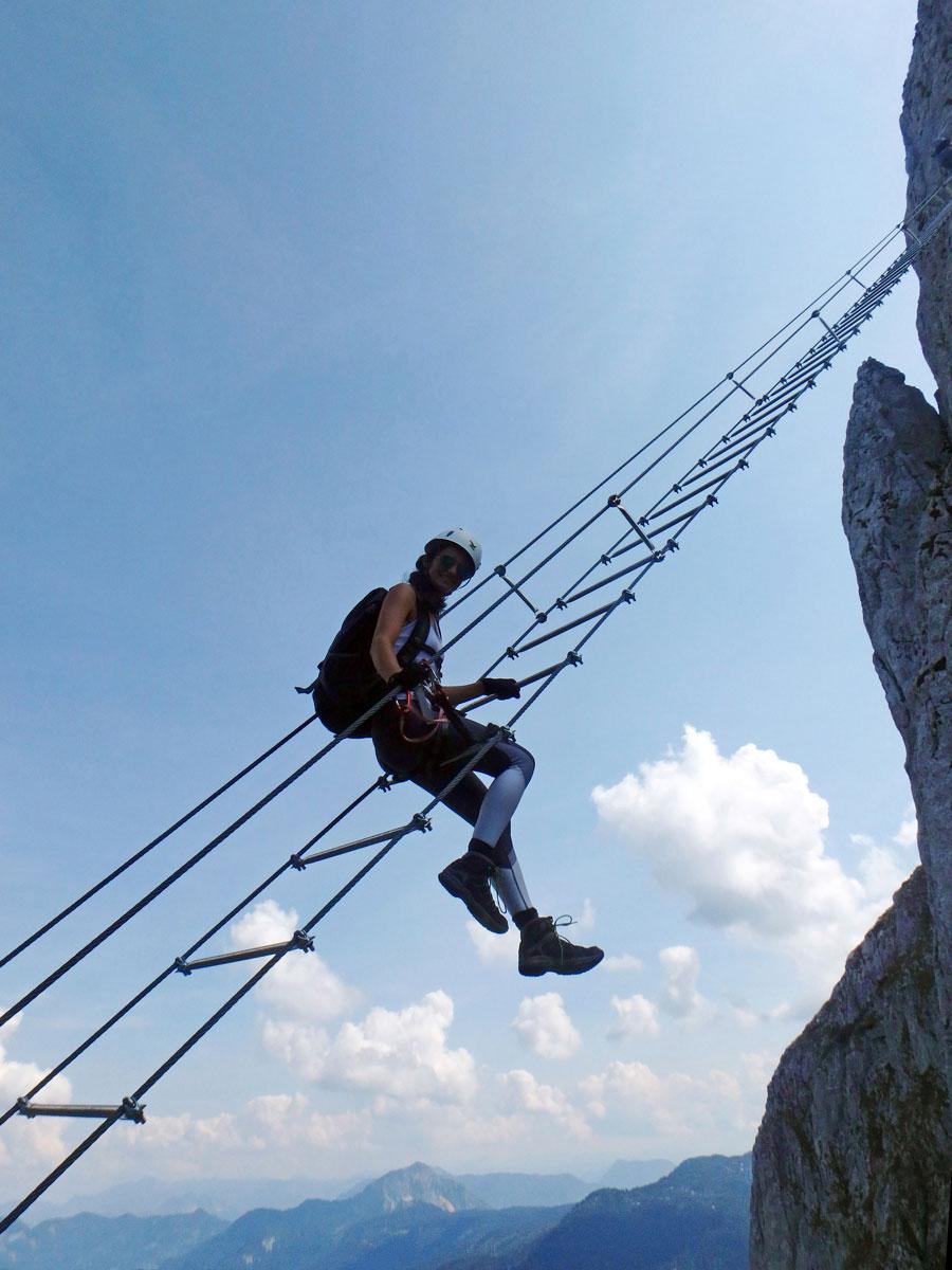 Himmelsleiter Klettersteig Donnerkogel