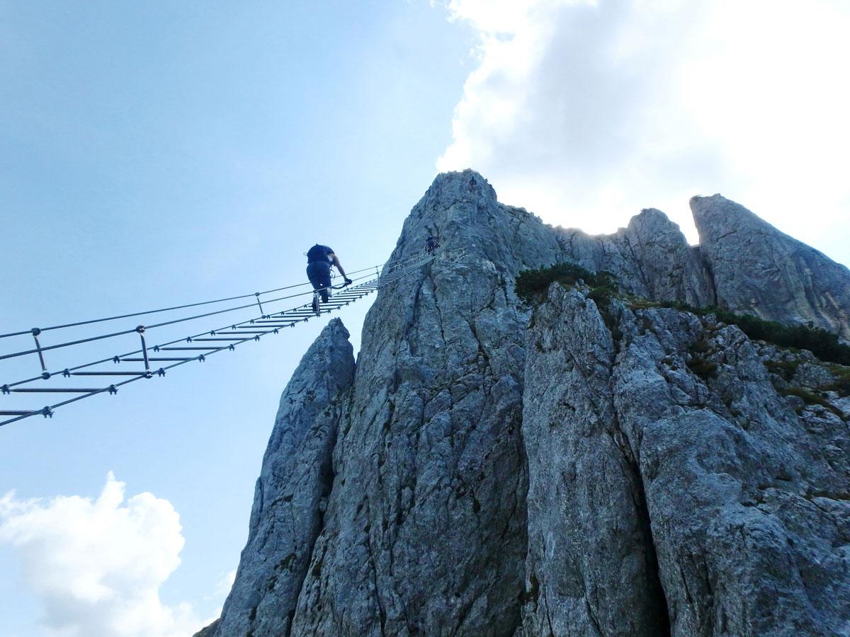 Donnerkogel Klettersteig Gosau