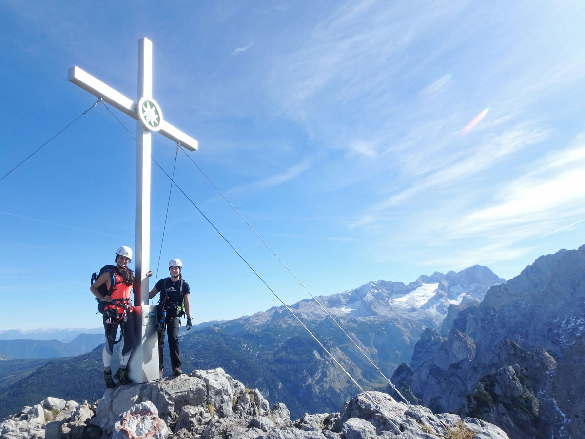 Donnerkogel Gipfelkreuz