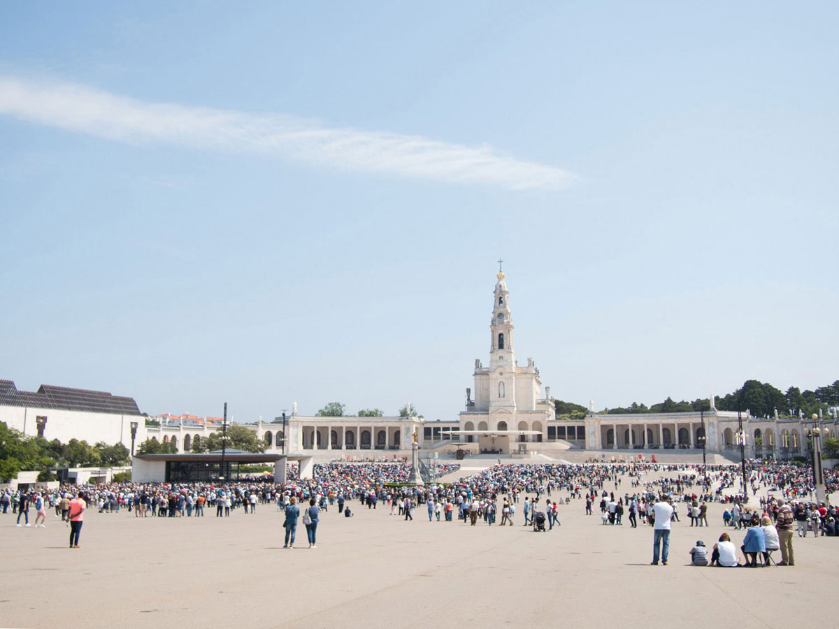 fatima 1 - Portugal Rundreise mit dem Auto - Von Burgen über Klippen - Unsere Reiseroute