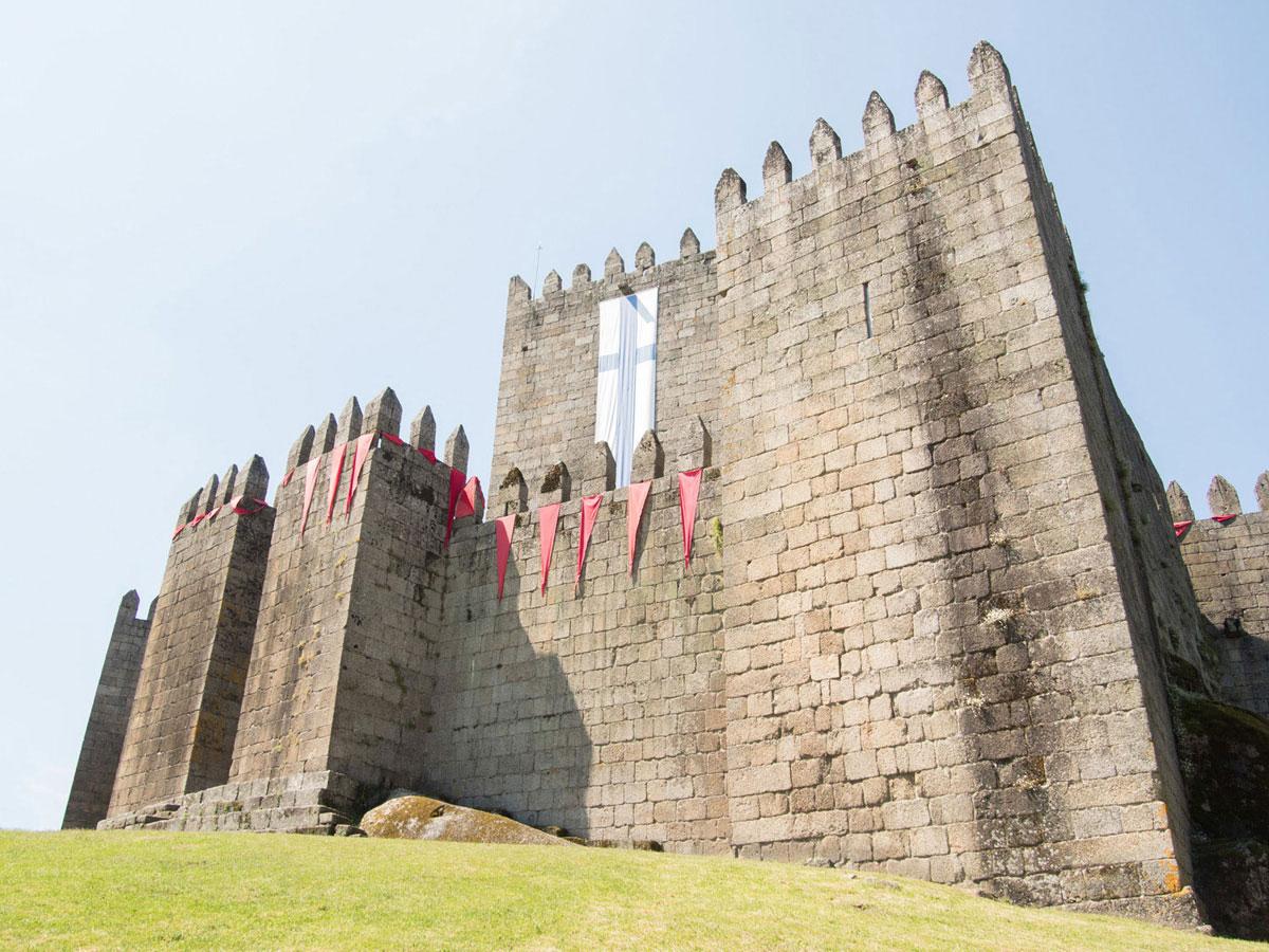 guimares - Portugal Rundreise mit dem Auto - Von Burgen über Klippen - Unsere Reiseroute