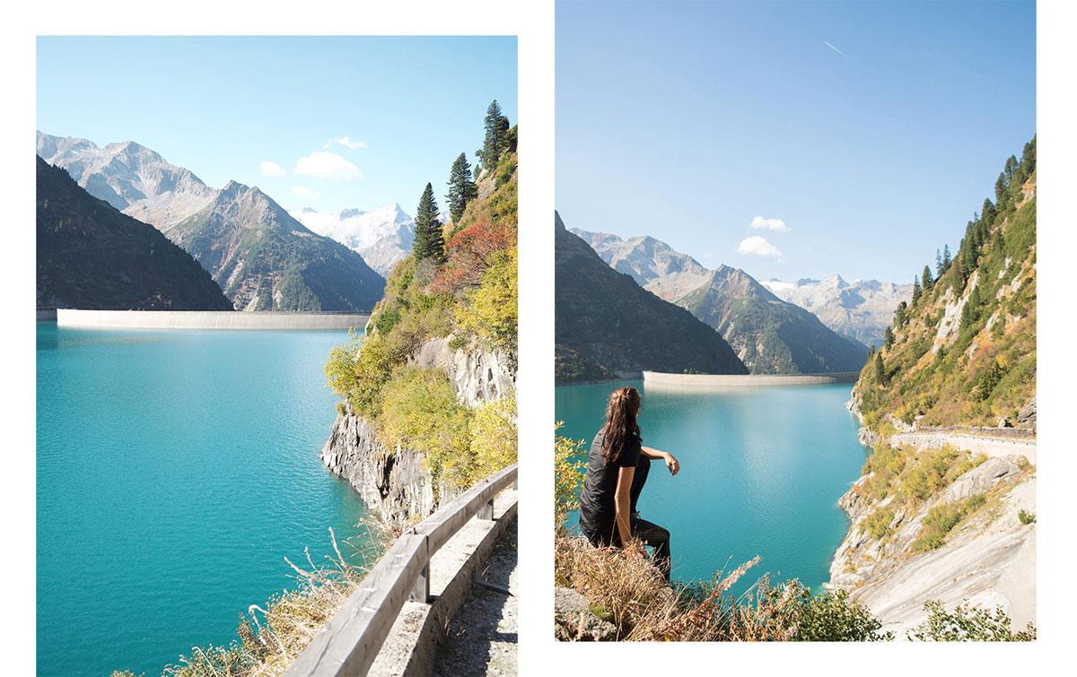 Wandern Zillergrund Stausee Zillertal Tirol