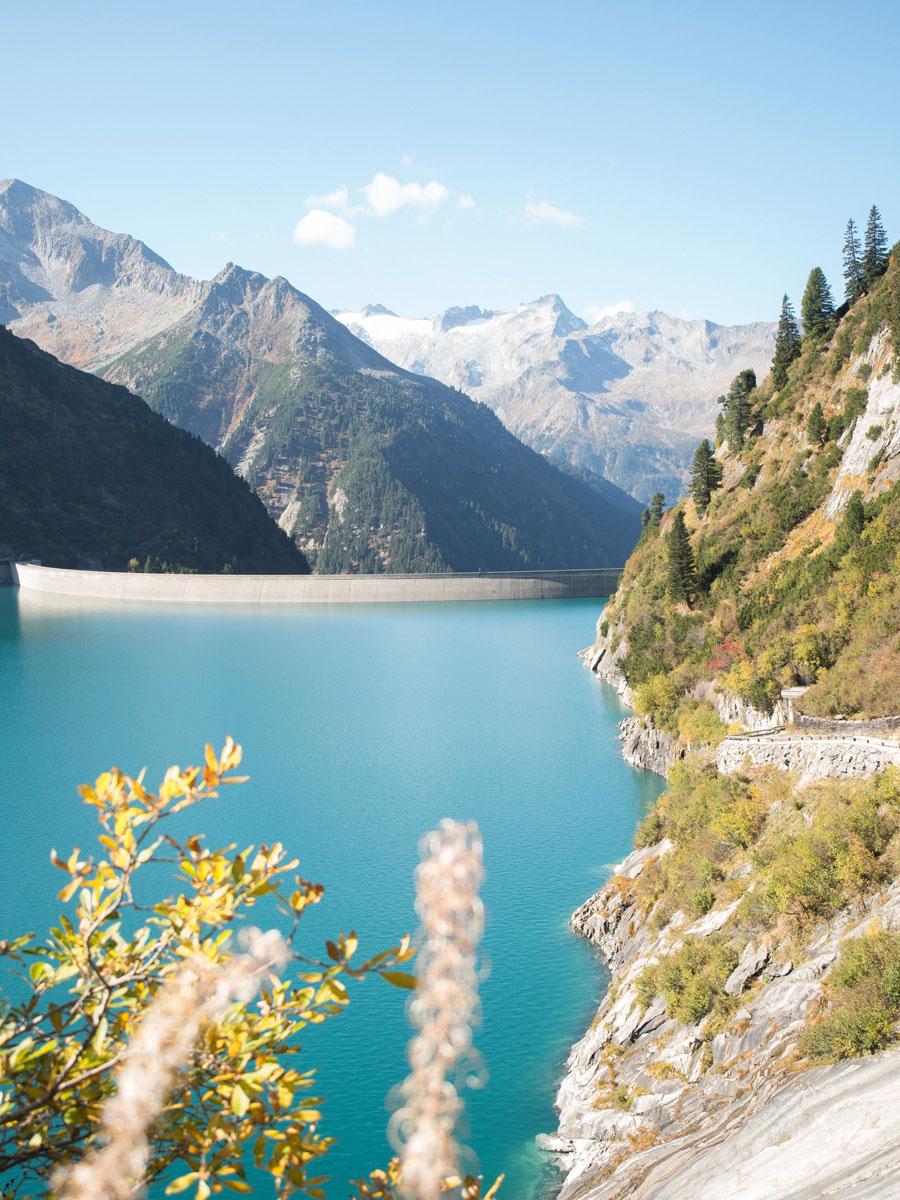 Zillergrund Stausee Zillertal Tirol