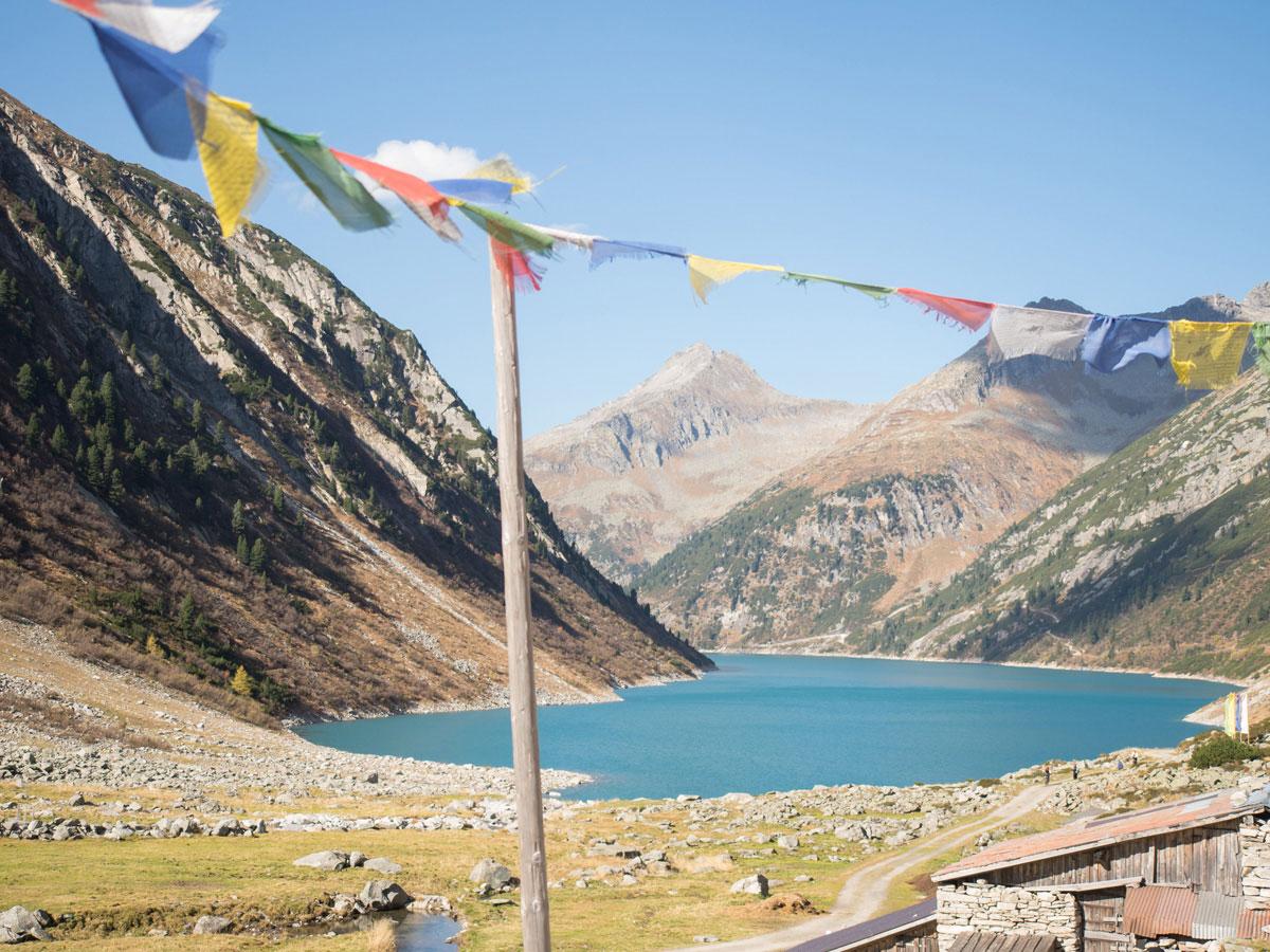 Hohenaualm Klein Tibet im Zillertal in Tirol