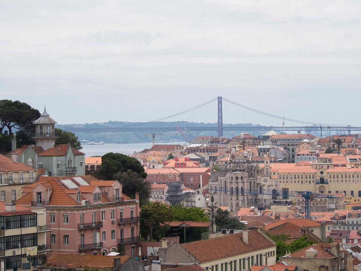 lissabon 1 - Portugal Rundreise mit dem Auto - Von Burgen über Klippen - Unsere Reiseroute