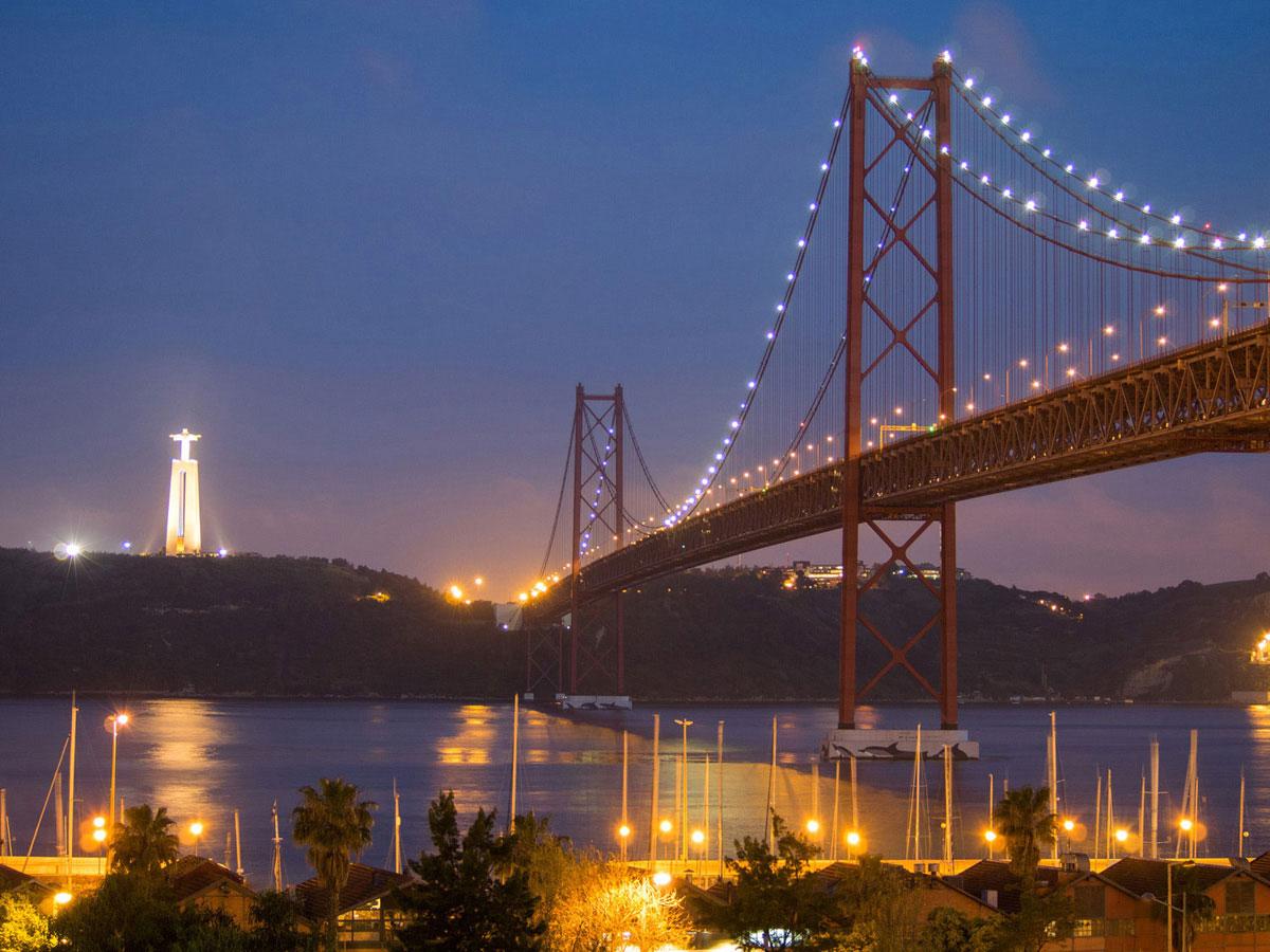 lissabon 2 - Portugal Rundreise mit dem Auto - Von Burgen über Klippen - Unsere Reiseroute