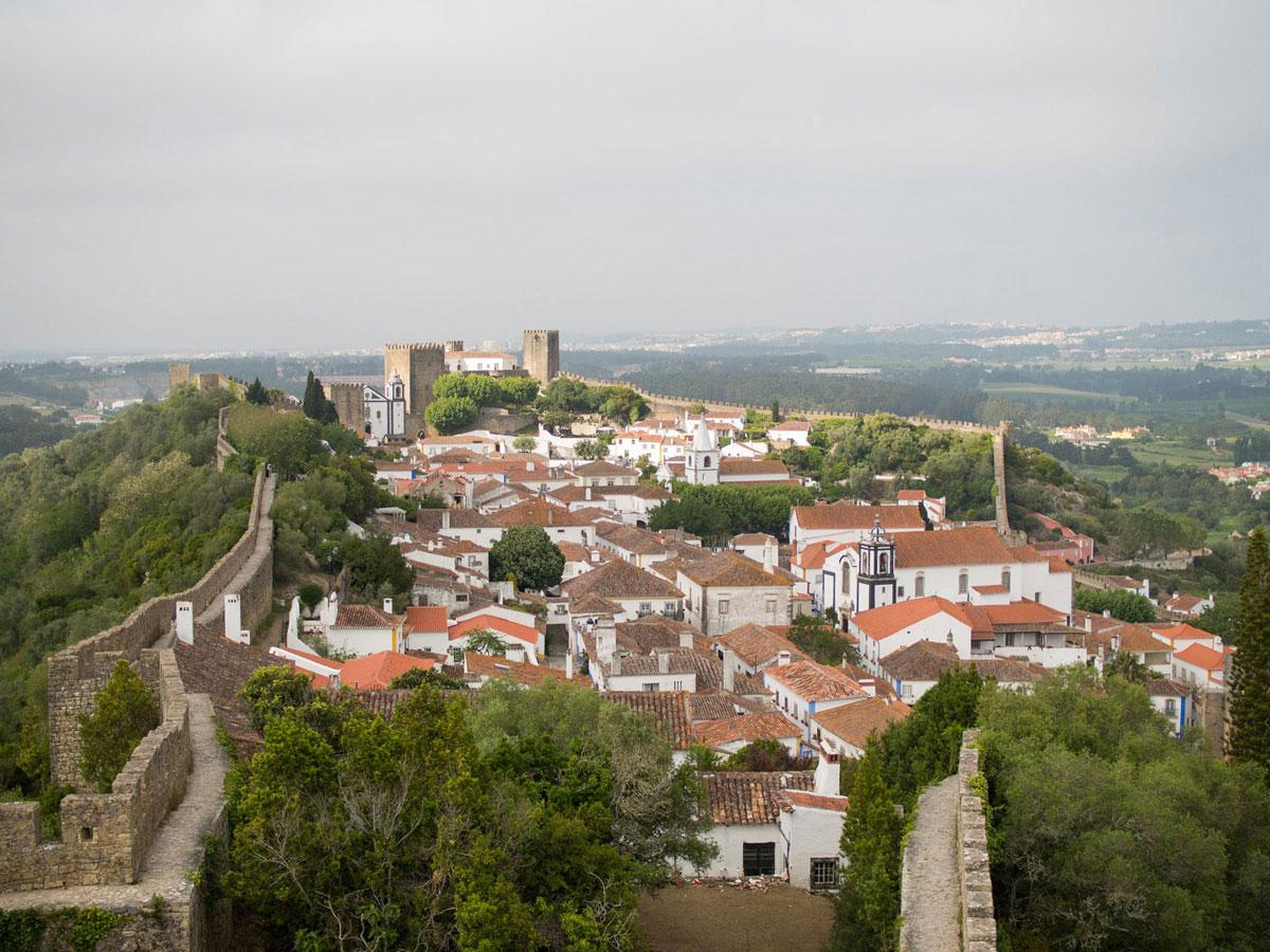 obidos 1 - Portugal Rundreise mit dem Auto - Von Burgen über Klippen - Unsere Reiseroute