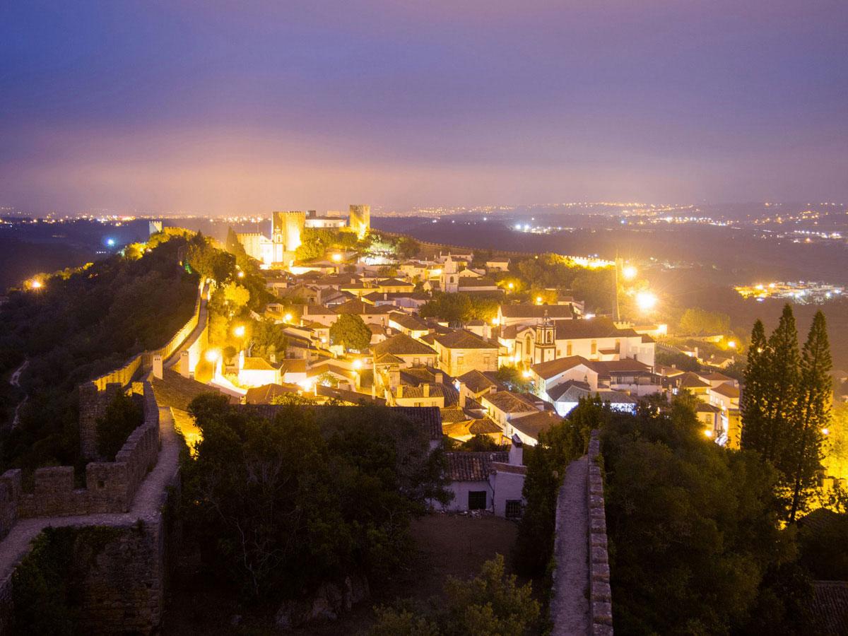 obidos 4 - Portugal Rundreise mit dem Auto - Von Burgen über Klippen - Unsere Reiseroute