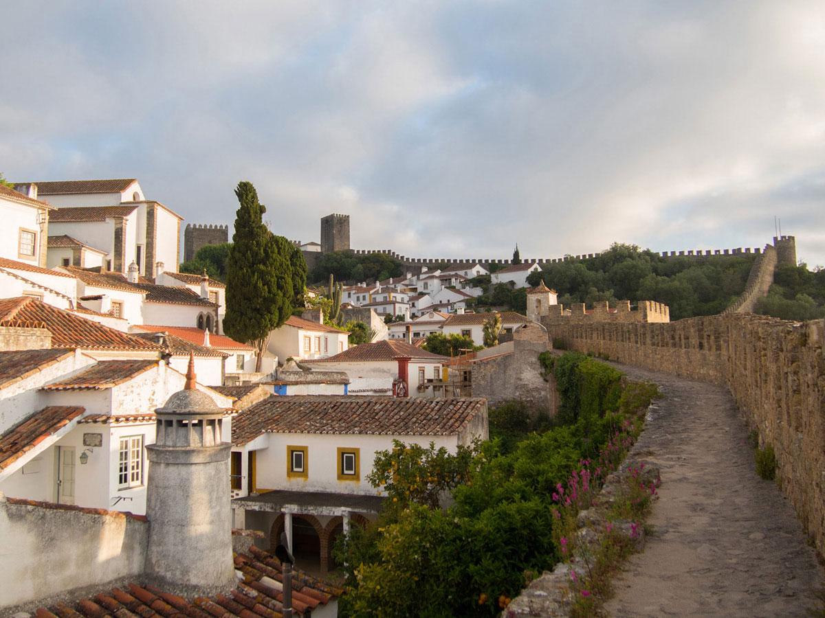 obidos 6 - Portugal Rundreise mit dem Auto - Von Burgen über Klippen - Unsere Reiseroute
