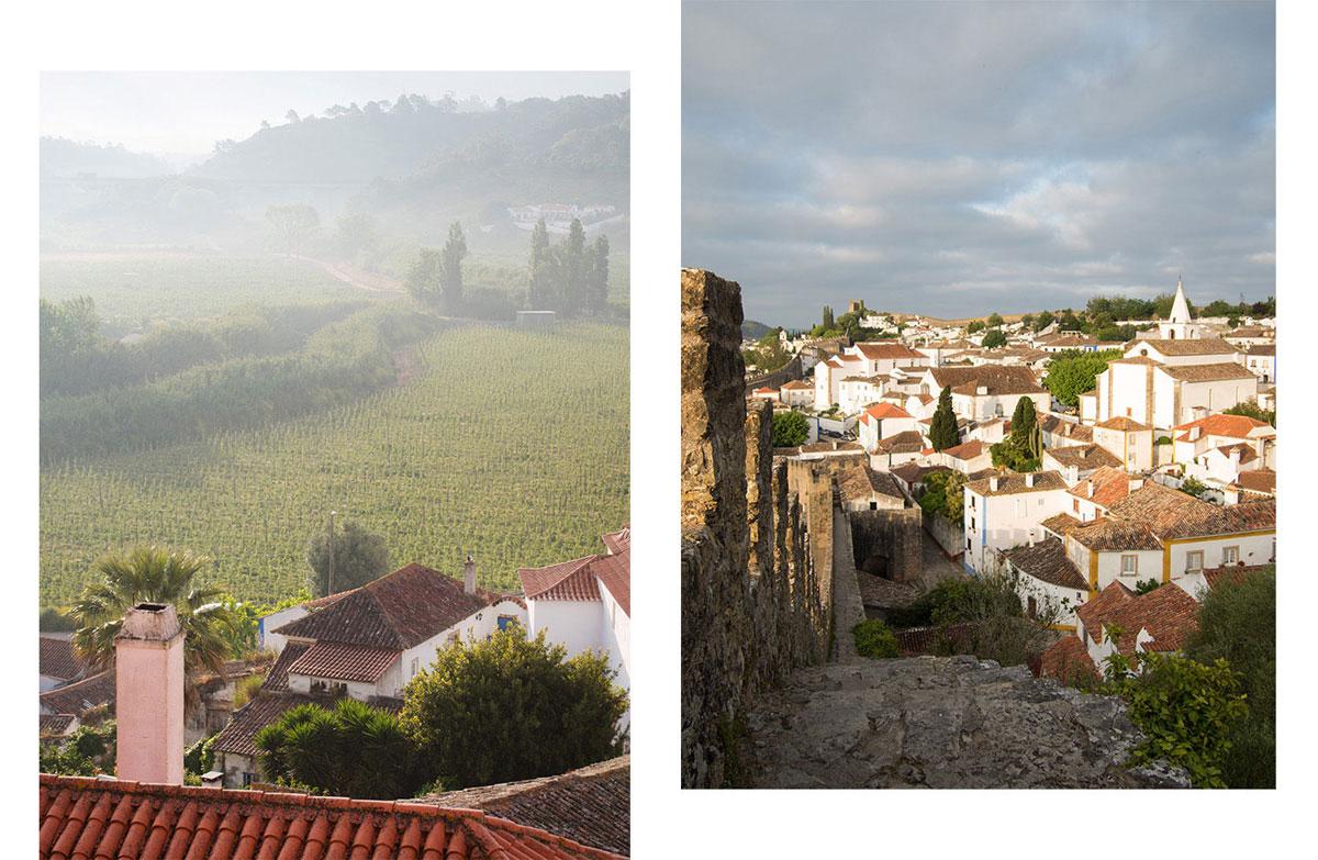 obidos - Portugal Rundreise mit dem Auto - Von Burgen über Klippen - Unsere Reiseroute
