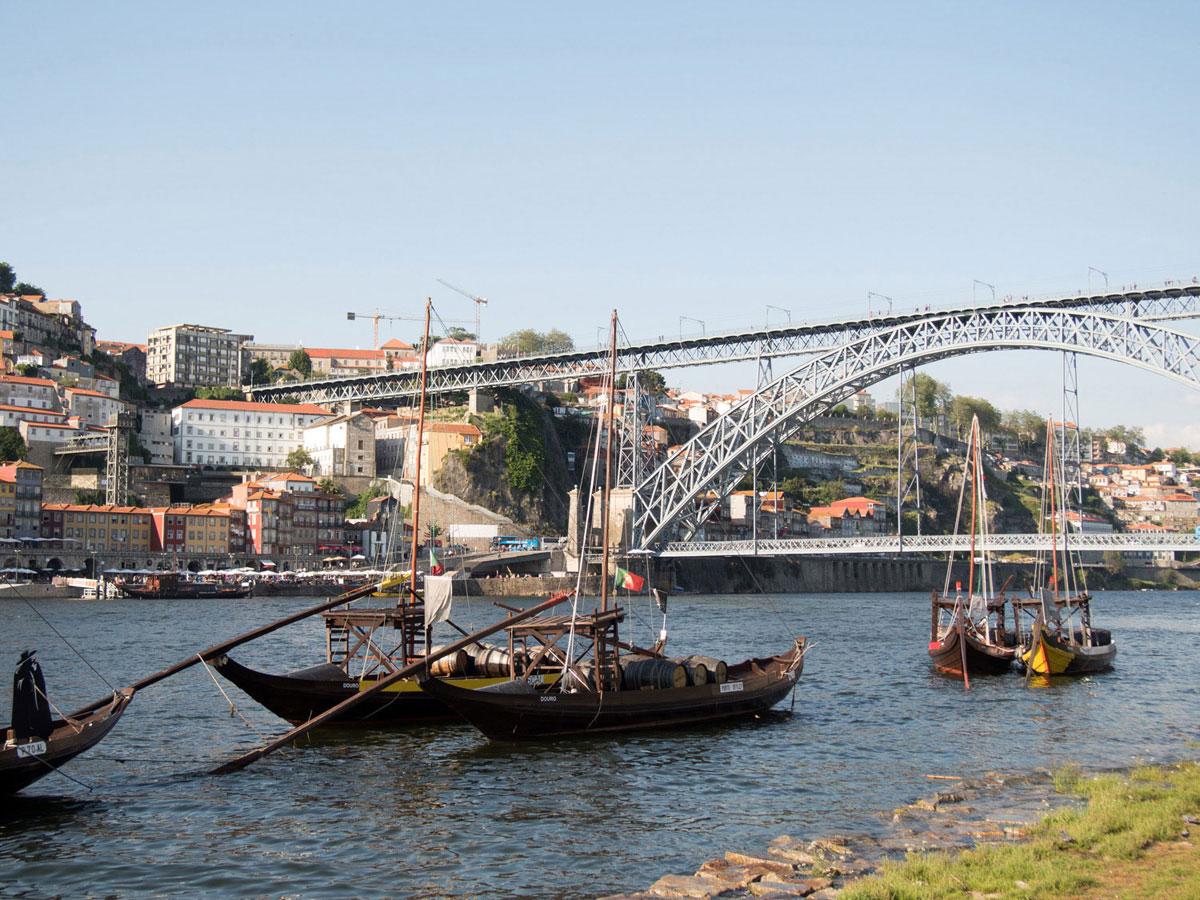 porto 2 - Portugal Rundreise mit dem Auto - Von Burgen über Klippen - Unsere Reiseroute