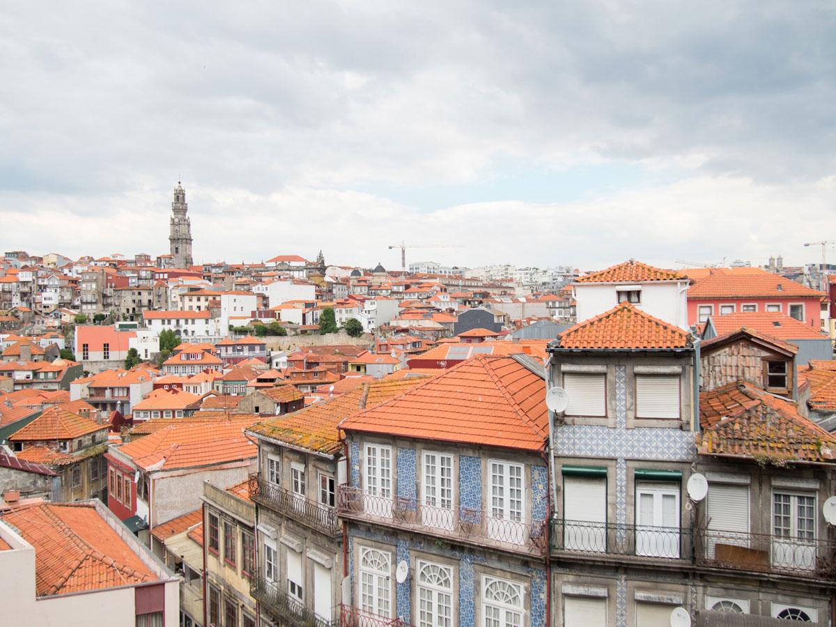 porto aussicht kathedrale - Ein Tag in der Stadt Porto in Portugal