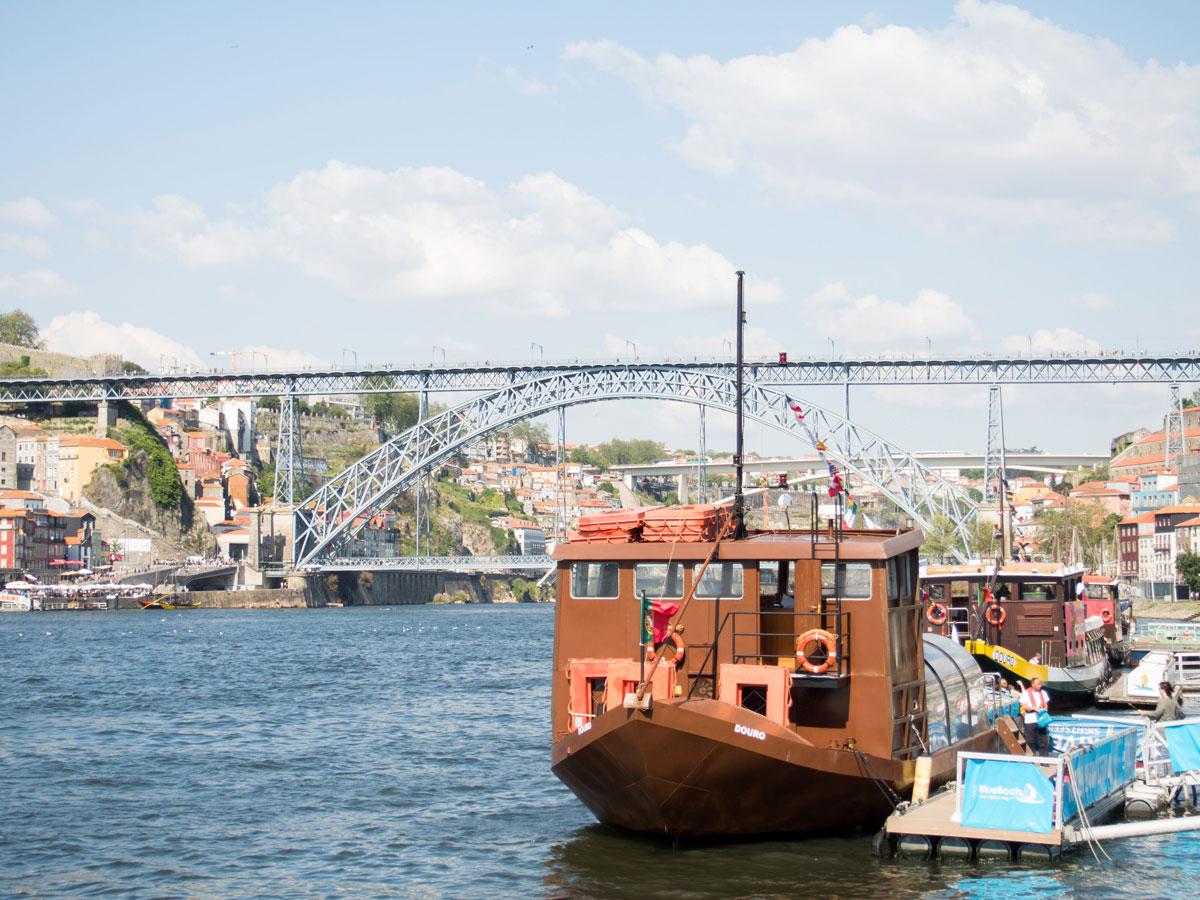 porto fluss douro - Ein Tag in der Stadt Porto in Portugal