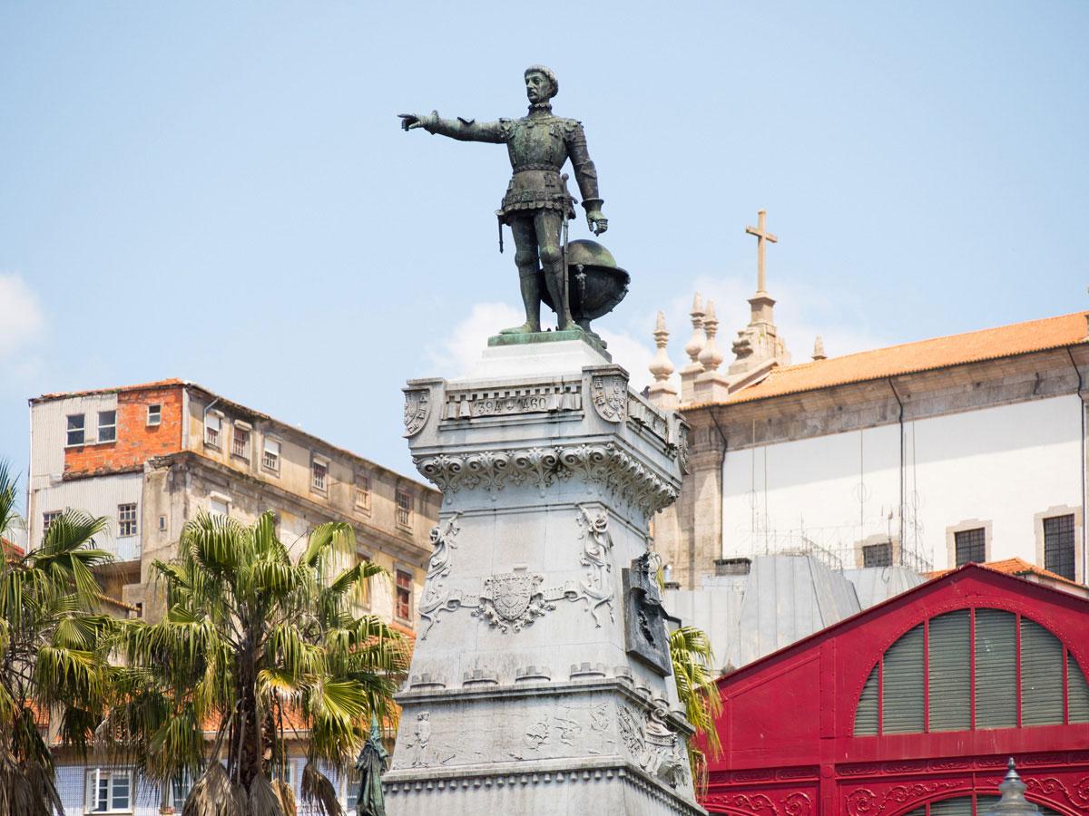 porto heinrich der seefahrer - Ein Tag in der Stadt Porto in Portugal