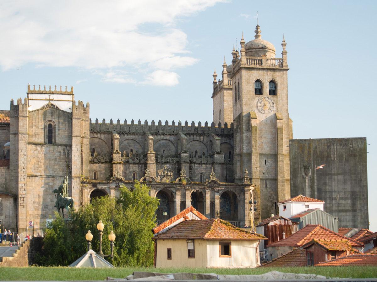 porto portugal kathedrale - Ein Tag in der Stadt Porto in Portugal