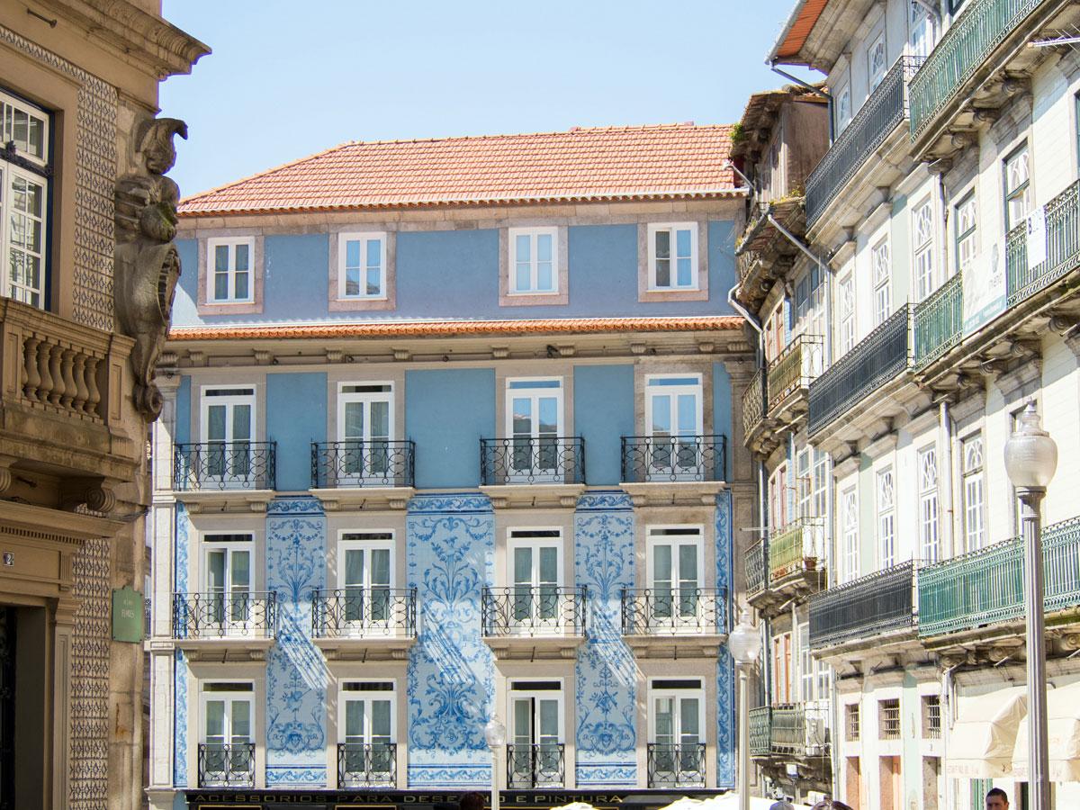 porto portugal strasse - Ein Tag in der Stadt Porto in Portugal
