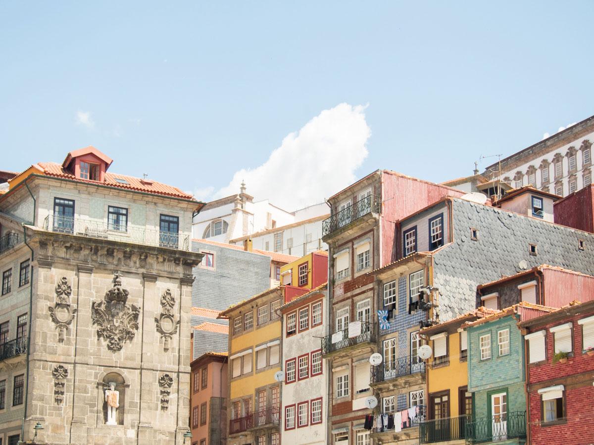 porto stadt - Ein Tag in der Stadt Porto in Portugal