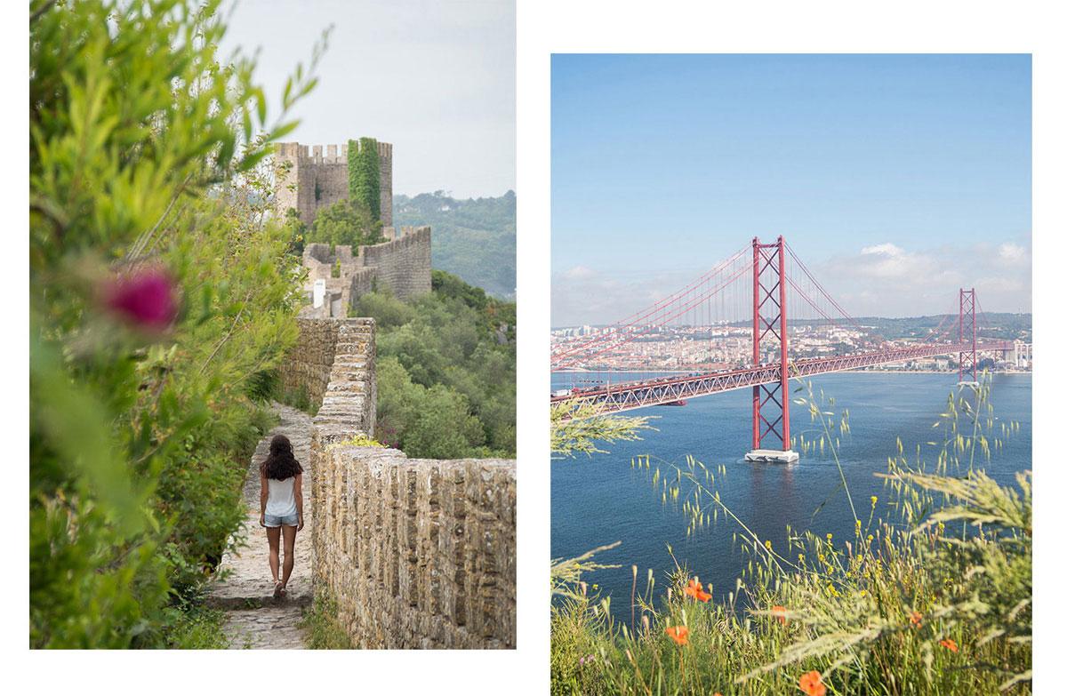portugal lissabon obidos - Portugal Rundreise mit dem Auto - Von Burgen über Klippen - Unsere Reiseroute