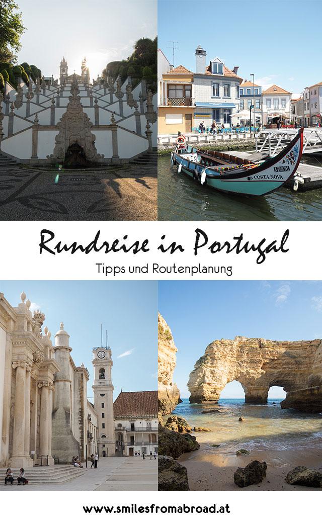 portugal rundreise2 - Portugal Rundreise mit dem Auto - Von Burgen über Klippen - Unsere Reiseroute