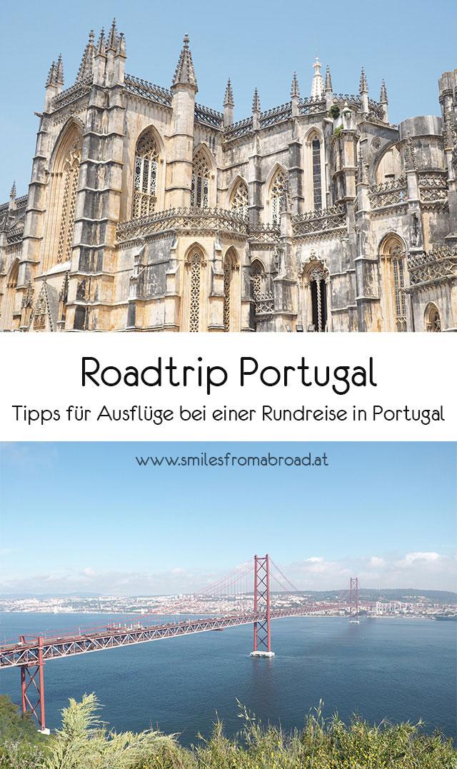roadtrip portugal pinterest - Portugal Rundreise mit dem Auto - Von Burgen über Klippen - Unsere Reiseroute