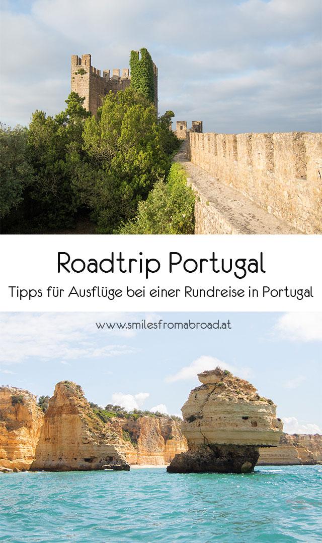 roadtrip portugal pinterest2 - Portugal Rundreise mit dem Auto - Von Burgen über Klippen - Unsere Reiseroute