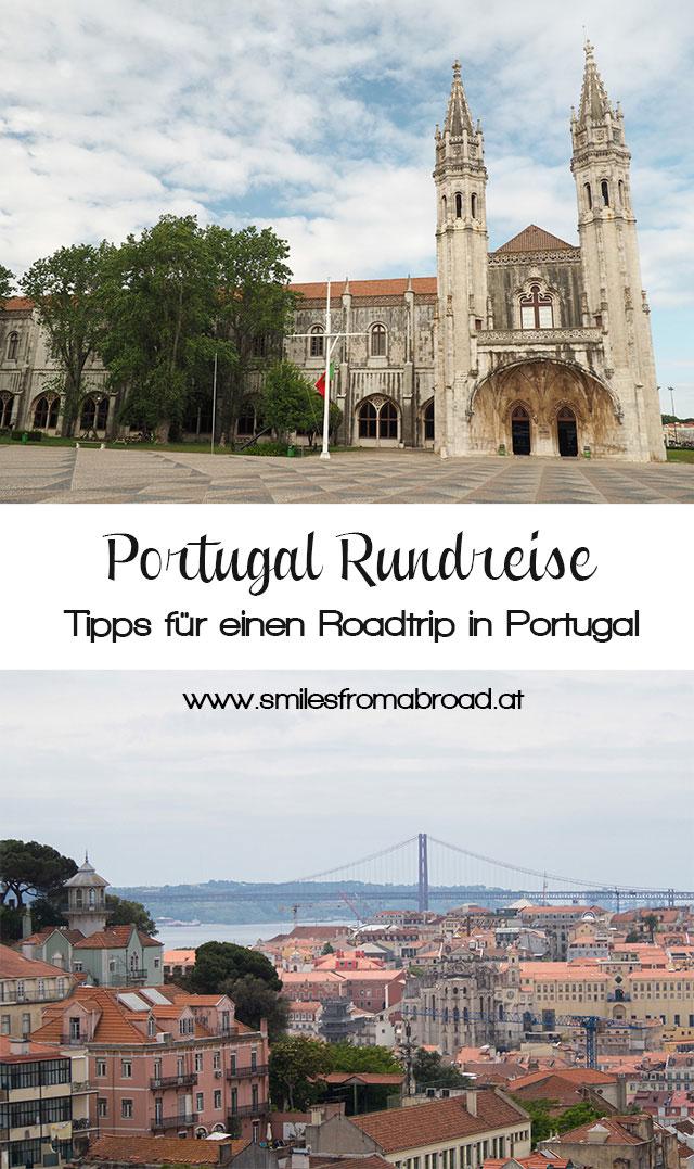 roadtrip portugal pinterest4 - Portugal Rundreise mit dem Auto - Von Burgen über Klippen - Unsere Reiseroute