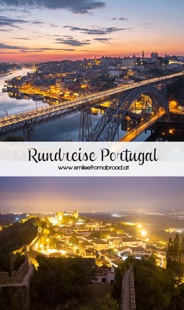 rundreise portugal - Portugal Rundreise mit dem Auto - Von Burgen über Klippen - Unsere Reiseroute