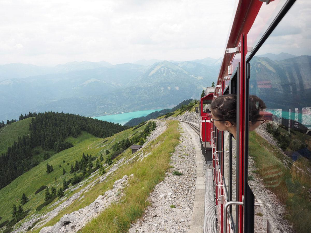 Schafbergbahn Salzkammergut Oberösterreich