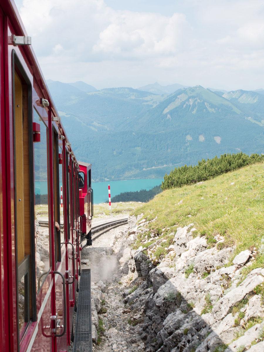 schafberg oberoesterreich salzburg schafbergbahn tagesausflug 4 - Ausflug auf den Schafberg im Salzkammergut mit der Schafbergbahn