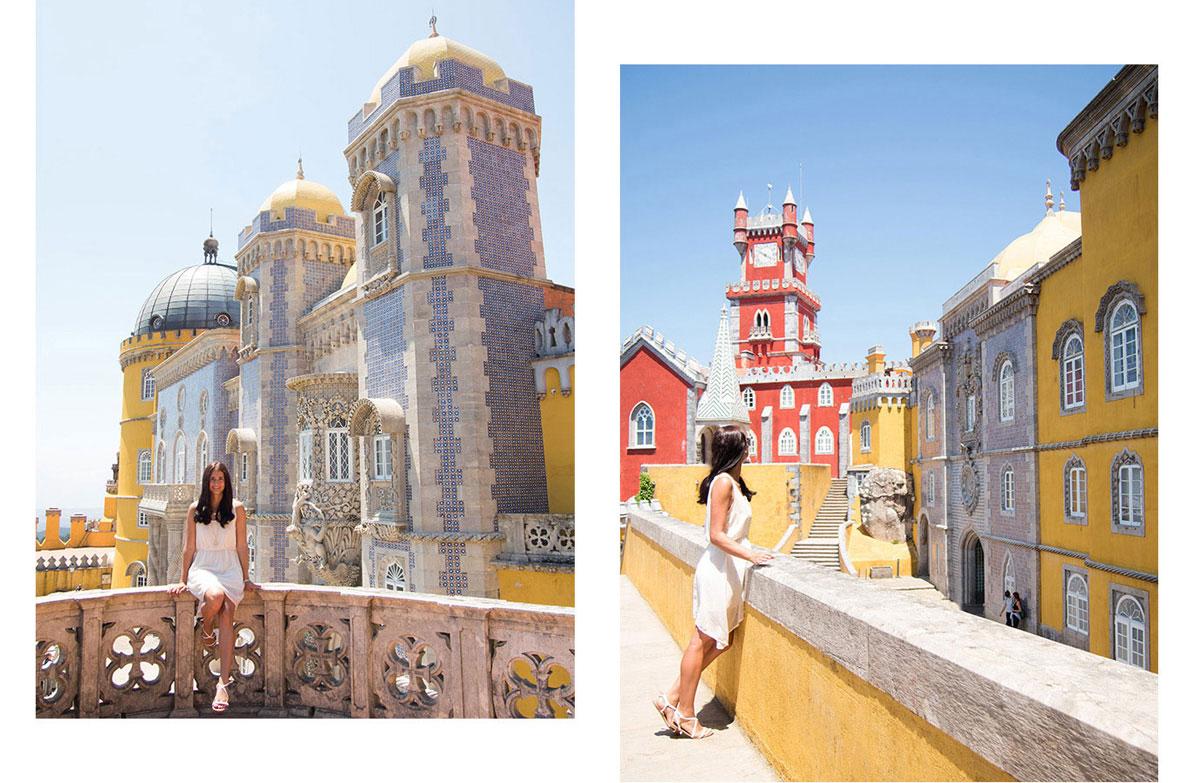 sintra - Portugal Rundreise mit dem Auto - Von Burgen über Klippen - Unsere Reiseroute