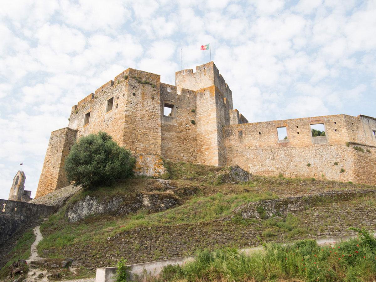 tomar 2 - Portugal Rundreise mit dem Auto - Von Burgen über Klippen - Unsere Reiseroute