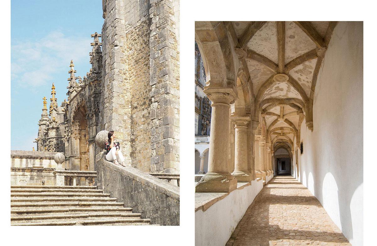 tomar - Portugal Rundreise mit dem Auto - Von Burgen über Klippen - Unsere Reiseroute