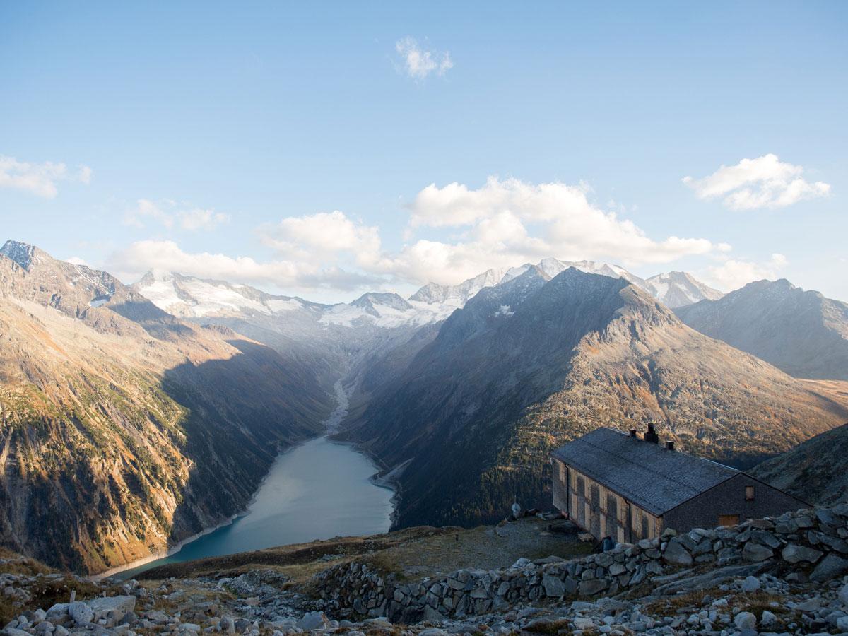Olpererhütte Tirol Zillertal