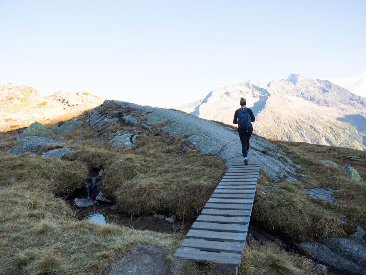 Wandern zur Olpererhütte im Zillertal