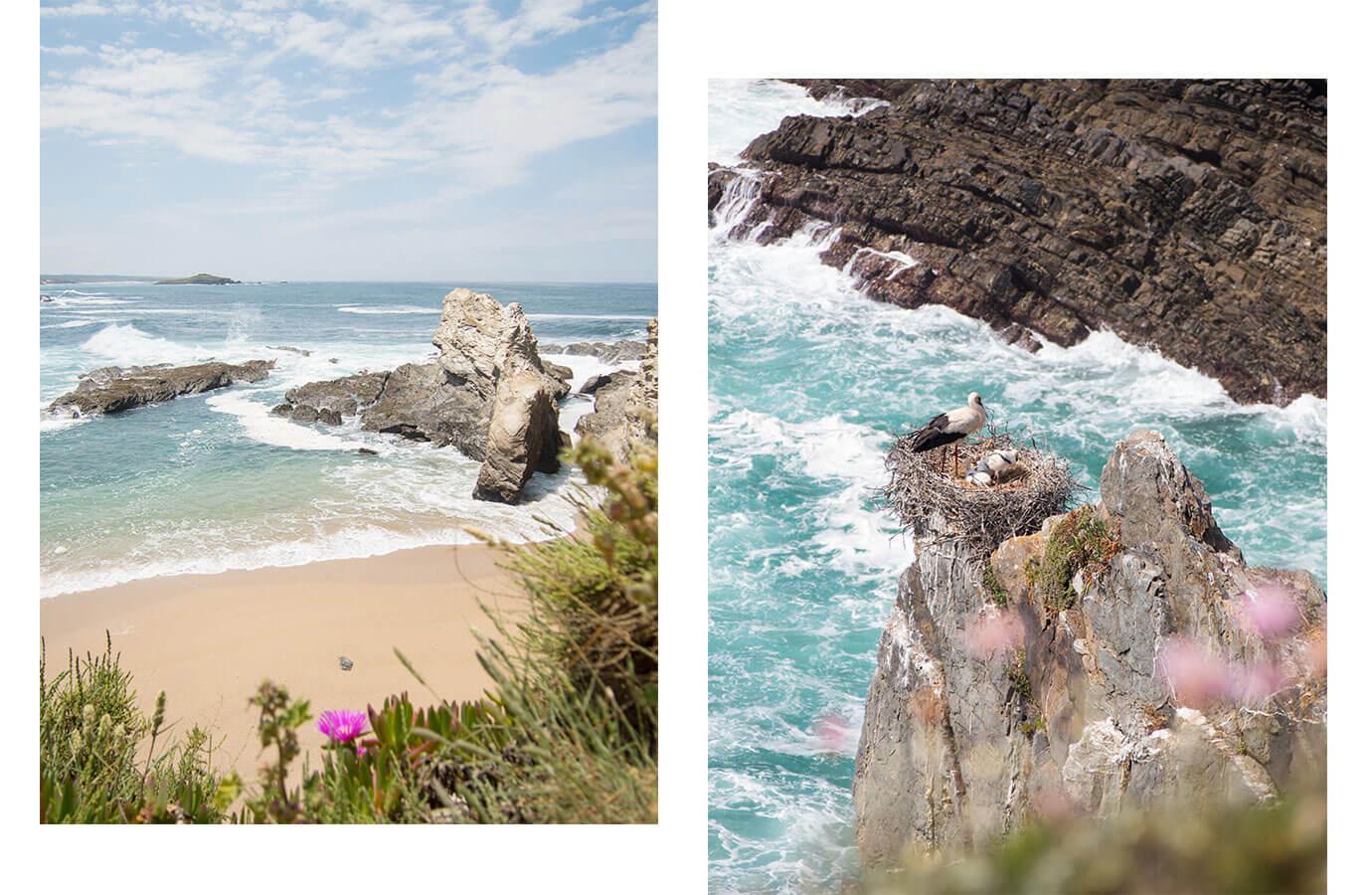 westkueste portugal2 - Portugal Rundreise mit dem Auto - Von Burgen über Klippen - Unsere Reiseroute