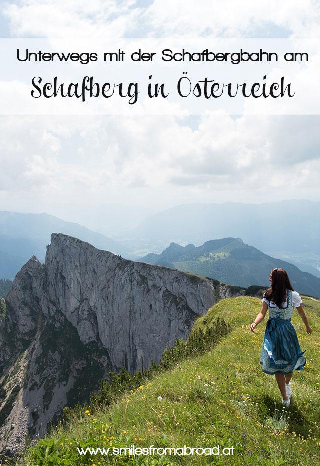 schafberg pinterest2 - Ausflug auf den Schafberg im Salzkammergut mit der Schafbergbahn